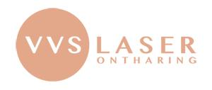 VVS Laserontharing: permanente ontharing. Logo